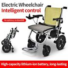 Electric Wheelchair Folding Lightweight Power Medical Mobility Aid Wheel Chair