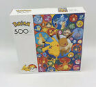 Pokemon and Eevee Puzzle 500 Piece Bubble Character Collage Series 1 NIB