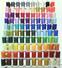 Premium 100 Polyester Embroidery Thread Spools 550yards each