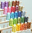 25 colors Large Cones Variegated Polyester Embroidery Machine Thread Kit 1100 Y