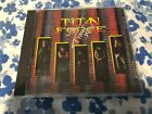 TITAN FORCE CD RARE US METAL PRESS JAG PANZER VICIOUS RUMORS SIGNED BY TYRANT
