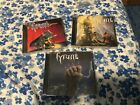 TYRANT 3 CD LOT RUNNING WILD PRESS ACCEPT GRAVE DIGGER STORMWITCH HIGH TENSION