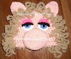 CUSTOM Boutique CROCHETED MUPPETS MISS PIGGY Hat Beanie