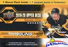 2019 20 Upper Deck Series 1 Hockey HUGE Factory Sealed Blaster Box-YOUNG GUN RC