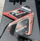 1981 Honda XL500S Left and Right Side Fairings