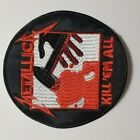 Metallica Kill them all Round EMBROIDERED PATCH