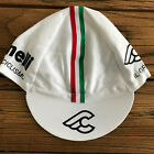 CINELLI WHITE CLASSIC CYCLING CAP NEW BIKE HAT