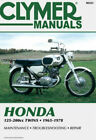 CLYMER SERVICE REPAIR MANUAL HONDA CA CB CD CL SL SS 125 160 175 200 1965-1978