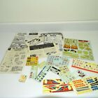 Group of AMT Revell Ertl MPC Model Kit Instruction Booklets and Decals