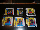STAR WARS 1977 topps cards wrapper lot