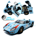 Shelby Collectibles 118 1966 Ford GT 40 MKII Gulf 1 Blue Diecast Model