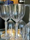 Set of 5 Waterford Crystal Omega Pattern Wine Glass Goblets Marquis Collection