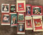Lot of 11 Hallmark Ornaments~Cartoon & Storybook Characters~Some Disney~With Box