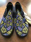 VANS Nightmare Before Christmas Oogie Boogie Slip On Shoe GLOW Mens 5Wmn 65