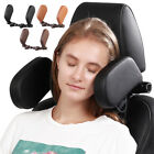 Hard PVC Sleeping Neck Pillow Auto Adjustable Angle Shockproof Car Seat Headrest