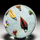 Caithness Glass 1987 Artist Proof Duck Pond paperweight by William Manson