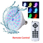 Color Change RGB LED Swimming Pool Light Underwater Lamp Bulb 12V 45W + Remote