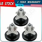 3 Pack Spindle Assembly for MTD Cub Cadet LTX Mowers 46 Deck Part 918 04865A
