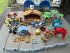 40 pc Fisher Price Little People Nativity Set 2008 The Inn Wise Men Animals