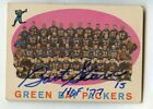1959 Topps Football Green Bay Packers #46 BART STARR HOF Signed AUTO Deceased