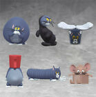 6pcs Set Tom And Jerry Figure Cartoon Silly Cat Carving Everyday Toys New Vol.4