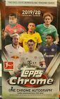 2019-20 Topps Chrome Bundesliga Soccer Cards Hobby Box Factory Sealed In Stock