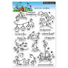 PENNY BLACK RUBBER STAMPS CLEAR NATURES WISHES NEW clear STAMP SET