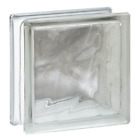 Glass Block Wave Pattern 775 x 775 x 312 Privacy Security 10 Pack