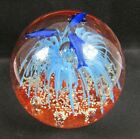 Fabulous Large Dolphins Swimming in Ocean Glass Paperweight