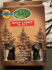 LEMAX ENCHANTED FOREST CHRISTMAS VILLAGE COLLECTION SPOTLIGHT SET 2 DUAL POWER