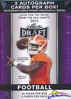 2017 Leaf Draft Football Factory Sealed Blaster Box-2 AUTOS! Pat MAHOMES RC Year