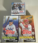 2020 Topps Series 1 & 2 Hobby Box With Silver Packs + 2019 Topps Chrome Update