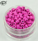 New DIY 100 Pcs 4mm Rose Czech Glass Spacer Loose Beads bracelet Jewelry Making