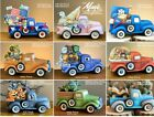 NEW Clay Magic Truck or Truck w Insert 4 U 2 Pick From Unpainted Ceramic Bisque