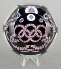 Whitefriars Glass LE 1976 Montreal Olympics Millefiori Paperweight