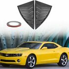 Side Window Scoop Louvers for 2010 2011 2012 2013 2014 2015 Camaro LS LT RS SS