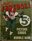 Topps 1956 Football Trading Cards Sports Rustic Retro Tin Metal Sign 13