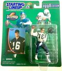 1998 Ryan Leaf Extended Rookie Chargers Starting Lineup in pkg w Football Card