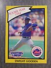 Dwight  Gooden New York Mets 1989 Starting Lineup R.O.Y. Kenner Baseball Card