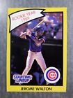 Jerome Walton Chicago Cubs 1989 Starting Lineup R.O.Y. Kenner Baseball Card
