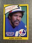 Andre Dawson Montreal Expos 1989 Starting Lineup R.O.Y. Kenner Baseball Card