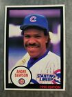 Andre Dawson Chicago Cubs 1989 Starting Lineup Kenner Baseball Card