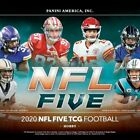 2020 Panini NFL Five Football Trading Game Factory Sealed Hobby Booster Box