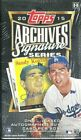 2015 Topps Archives Signature Series Baseball Hobby Box Sandy Koufax AUTO ???