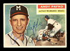 Andy Pafko Cards and Autograph Memorabilia Guide 16