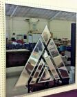 Don Alguire Op Art Mirror Greg Copeland Mid Century Modern Art Deco Glass 40