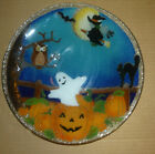 Peggy Karr Glass 11 HALLOWEEN Bowl Signed