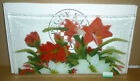 Peggy Karr Glass 14 WINTER GARDEN Tray Signed 2002