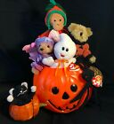 Ty Beanie Babies for Halloween playtime, & trick-or-treat decorating fun!