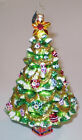Christopher Radko Christmas Tree Ornament Green Fir Christmas Tree STUNNING